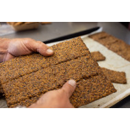SPROUTED GRAIN CRACKERS - KNACKEBROT