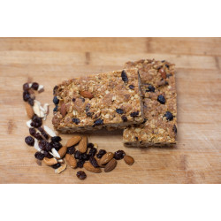 SNACK BOX - MUESLI SLICE & RASPBERRY AND DARK CHOCOLATE BROWNIE (Box of 6)