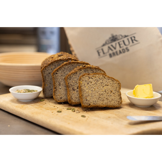 GLUTEN FREE VEGAN SEEDED SOURDOUGH (Tuesday to Saturday only)